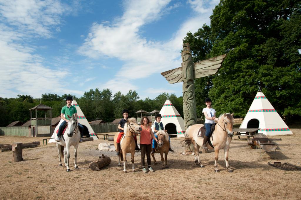 classes de découvertes équitation